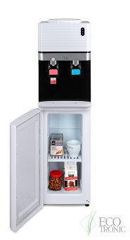 Кулер для воды Ecotronic M41-LCE white+black со шкафчиком