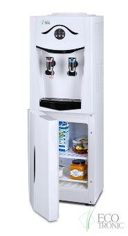 Кулер для воды Ecotronic K21-LF white+black с холодильником