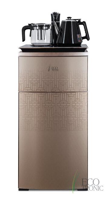 Кулер для воды с чайным столиком Тиабар Ecotronic TB5-LE gold