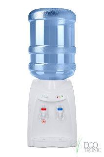 Кулер для воды Ecotronic K12-TE white с охлаждением