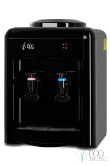 Кулер для воды Ecotronic H2-TE Black с охлаждением