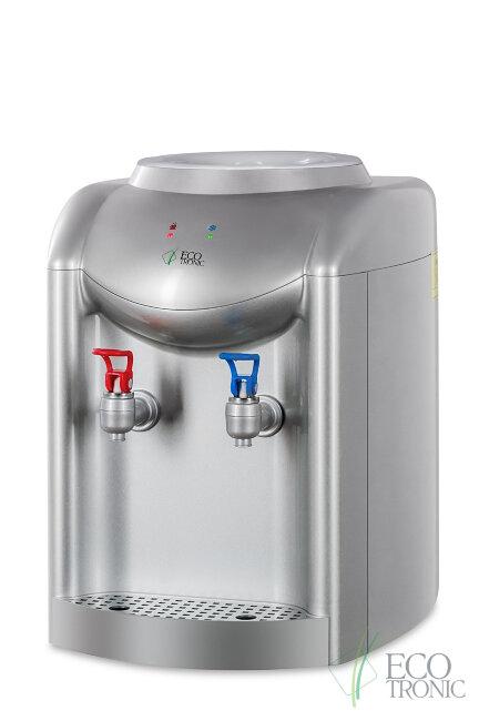 Кулер для воды Ecotronic K1-TE silver с охлаждением