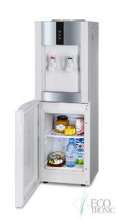 "Кулер для воды ""Экочип"" V21-LF white+silver с холодильником"