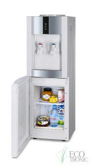 Кулер для воды Экочип V21-LF white+silver с холодильником