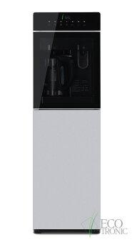 Кулер для воды с чайником Ecotronic M15-LXKEM silver