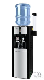 Кулер с газацией воды Ecotronic H1-L CARBO Black