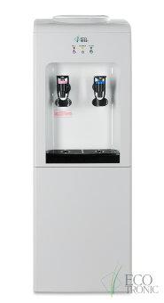 Кулер для воды Ecotronic K2-L White-black c охлаждением