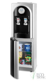 Кулер для воды Ecotronic C21-LCE black со шкафчиком