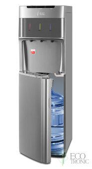 Кулер для воды Ecotronic M30-LXE silver с нижней загрузкой бутыли